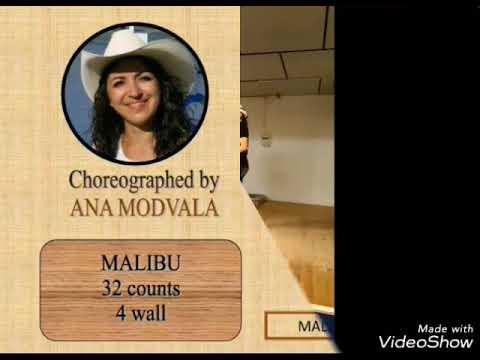 Malibu line dance