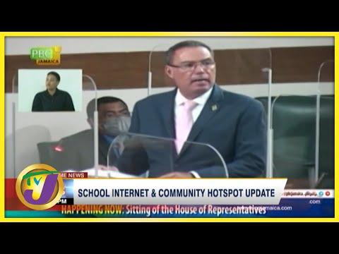 School Internet & Community Hotspot Update | TVJ News - Sept 28 2021