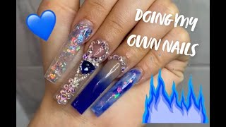 WATCH ME DO MY NAILS | Full Process, Both Hands