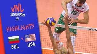 BULGARIA vs. USA - Highlights Men | Week 5 | Volleyball Nations League 2019