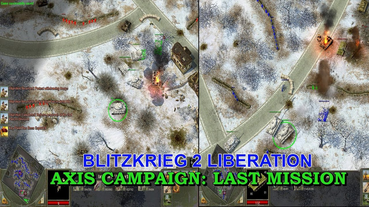 blitzkrieg 2 liberation save game
