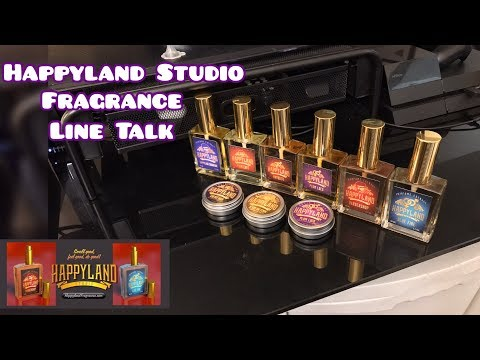 Happyland Studio House Talk / Fragrances For Frag Heads / Cologne / Perfume