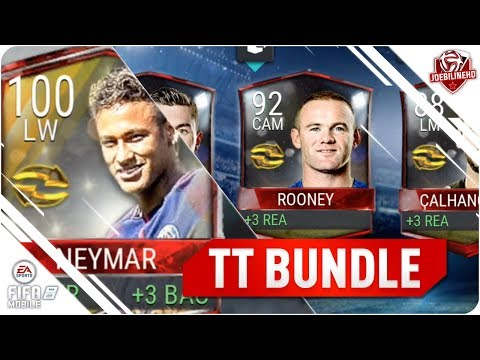FIFA MOBILE TOP TRANSFERS BUNDLE #FIFAMOBILE NEW 100 NEYMAR! TOP TRANSFERS PACK OPENING FT TT PULLS