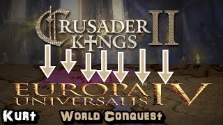Crusader Kings II - Europa Universalis IV - Konwerter i podbój świata