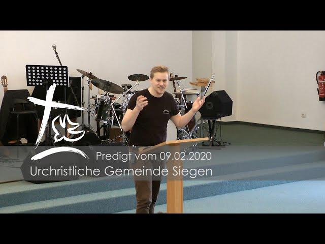 UGS - Predigt vom 09.02.2020 - Björn Edelmann - Thema: Sehnsucht