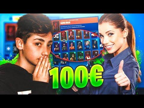 Chica Gamer Me Regala su Cuenta de 100€ y Me Encuentro Esto....