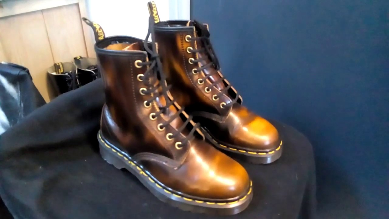 Dr Martens 1460 2 tons brown Vintage Made in England (MIE