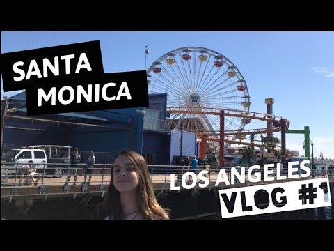 SANTA MONICA PIER -Vlog Los Angeles CA #1