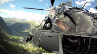 Super Puma AS332 C1 Eagle helicopters - Hubschrauber Lifting