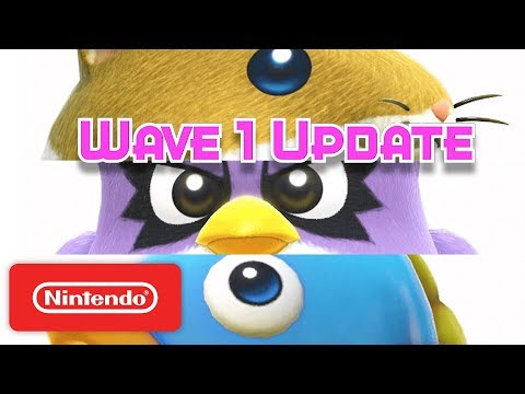 Kirby Star Allies: Rick & Kine & Coo Are Back! - Nintendo Switch