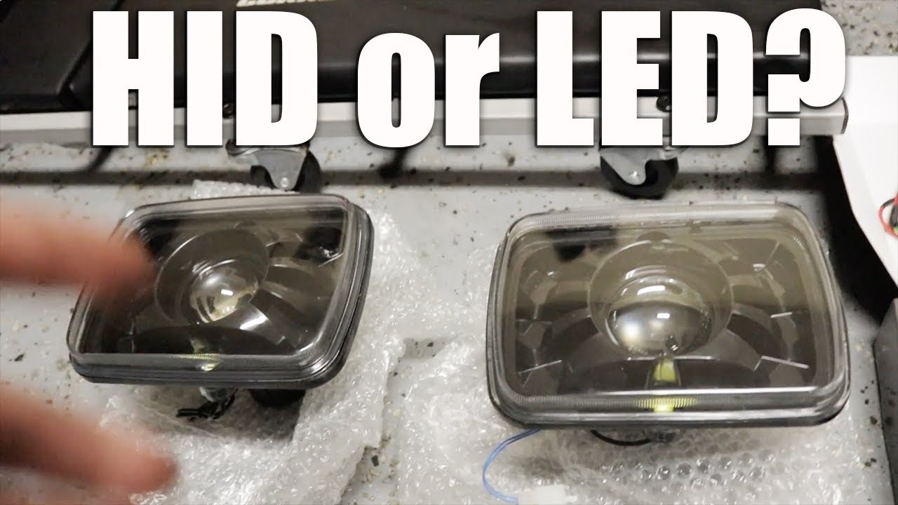 Led Headlamp Bulbs >> HID or LED? BRIGHTEST 7x6 HEADLIGHTS ON THE MARKET! - YouTube