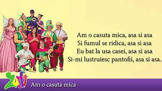 Gasca Zurli - Am o casuta mica (cu versuri - lyrics video) #zurli