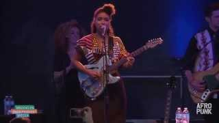 "Lianne La Havas perform ""Is Your Love Big Enough"" at AFROPUNK FEST 2014"