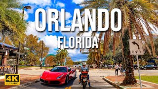 Orlando, Florida | Driving Downtown [4K]