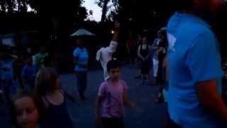 danse camping