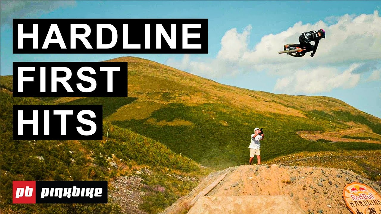 The Unofficial First Hits At Red Bull Hardline 2021