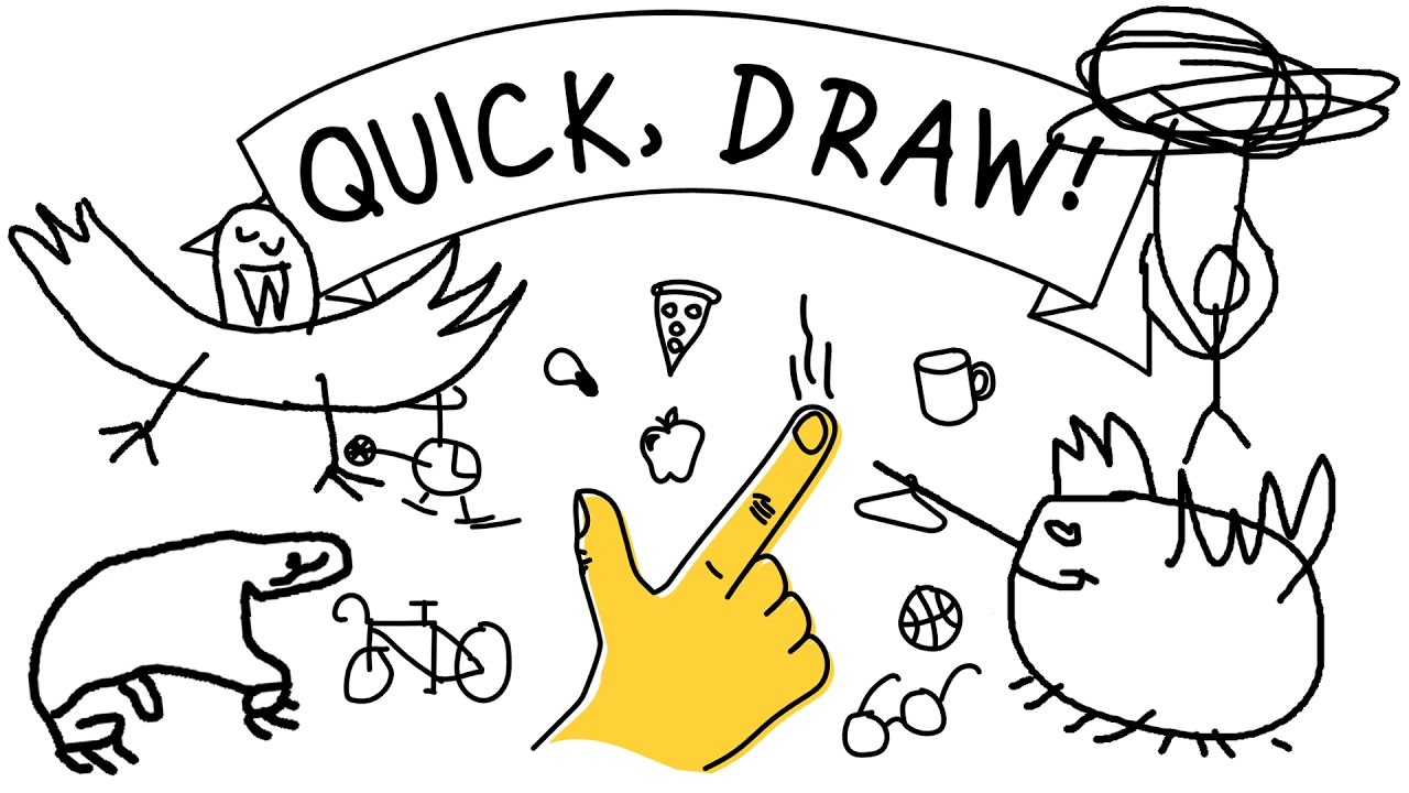 GOOGLE AI VS MY DOODLES! - Google Quick, Draw! - YouTube