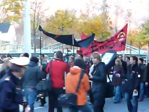 Demo Uni Salzburg 5.11.09