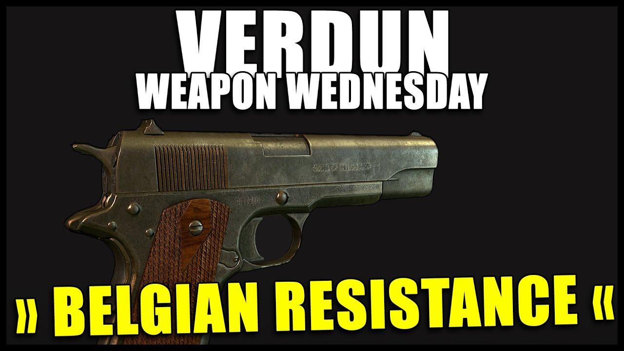 belgian resistance verdun weapon wednesday episode 7