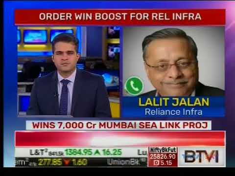 Reliance Infrastructure Ltd. to participate in Bullet Train project: Lalit Jalan, CEO