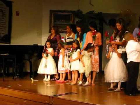 "The Cross Christian School "" Kindergarten Graduation Class of 2011""  The Wrap"