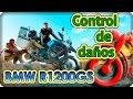 Control de daños BMW R1200gs Carlos. La vuelta al mundo en moto