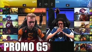 Giants vs Splyce | Game 5 S6 EU LCS Summer 2016 Promotion Tournament | GIA vs SPY G5 1080p