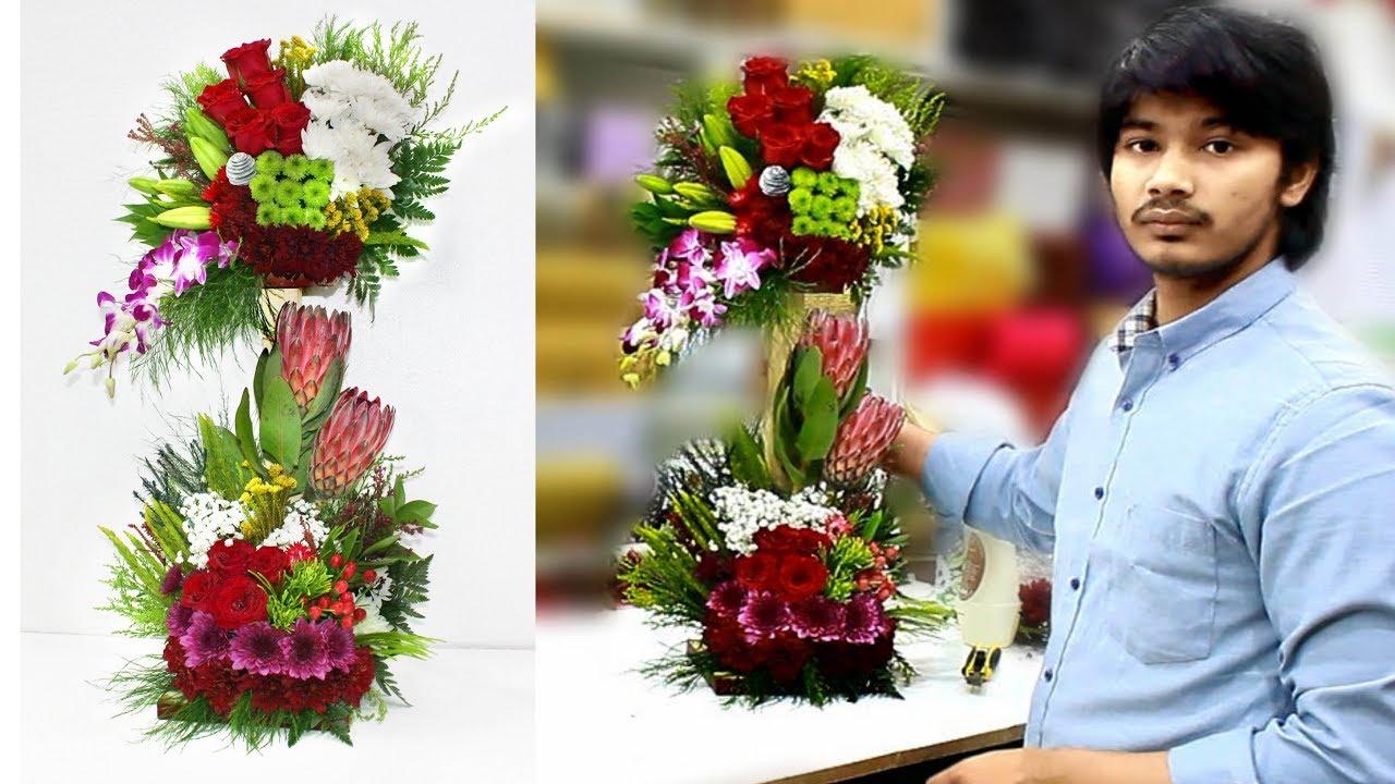 Big Bouquet Arrangement Great Floral Design Youtube