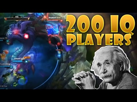 200 IQ PLAYERS - HOW TO STEAL BARON AS WARWICK - 200+ IQ PLAYS League of Legends