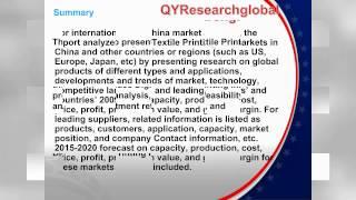 global and china textile digital printing