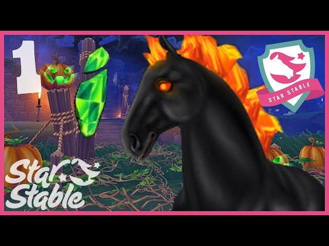 How to Find All Green Soul Shards in Star Stable Online Halloween Galloper's Keep Event