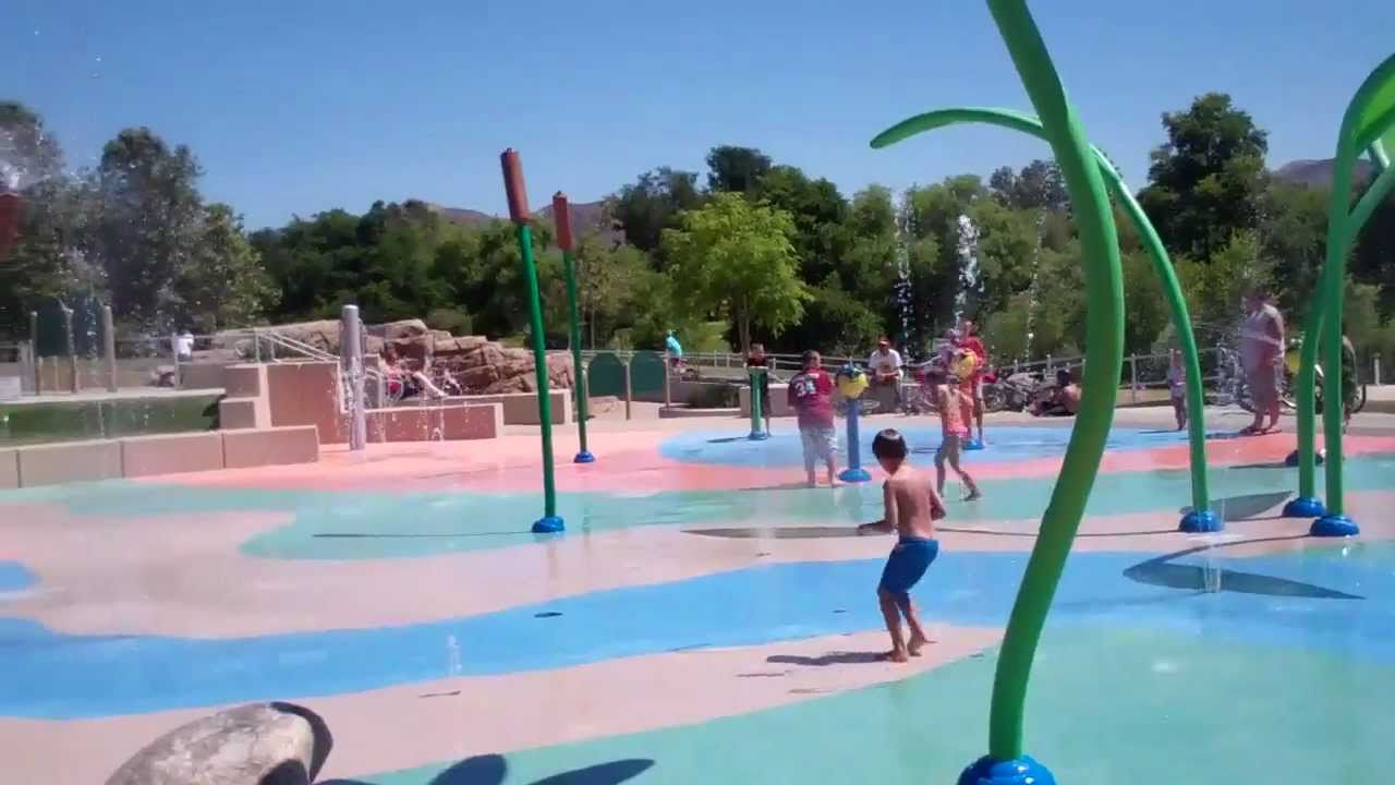 how to turn on splash pad