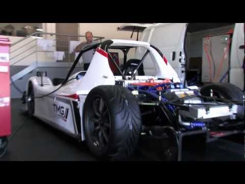 2012 Toyota Motorsports EV P002 Pikes Peak International Hill Climb car