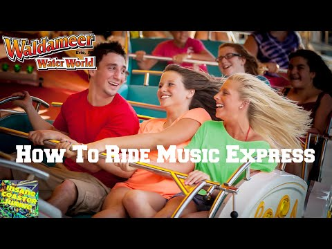 How To Ride Music Express At Waldameer Park