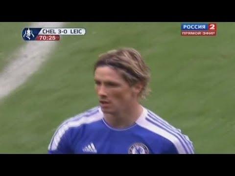Fernando Torres vs Leicester City Home 11-12