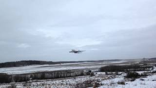 Emirates Airbus A380 take off at Stockholm-Arlanda