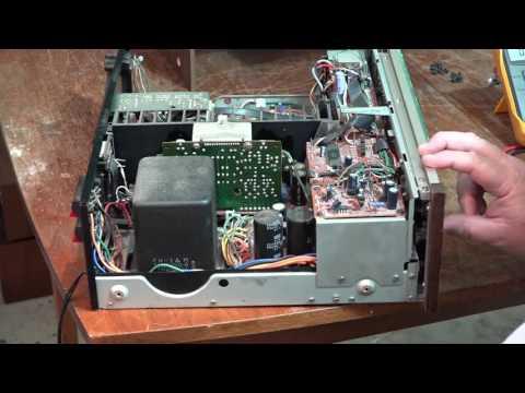 Marantz SR8000 No Sound No Display