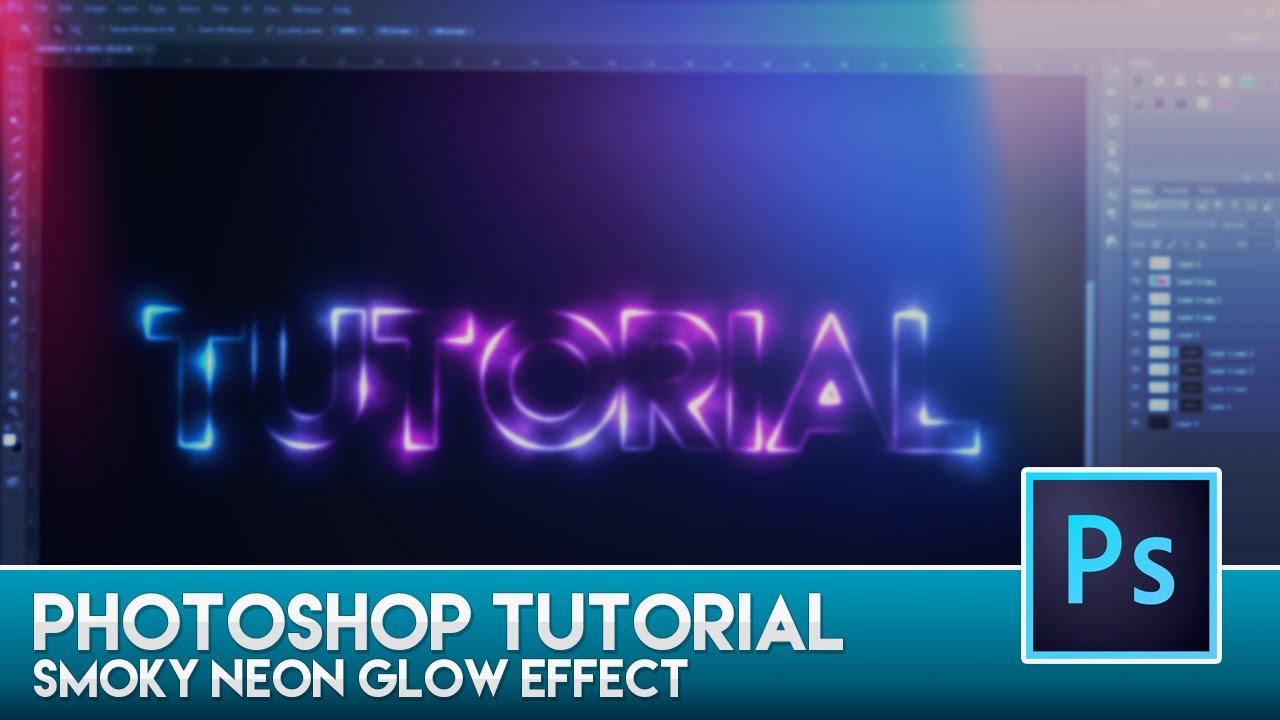 Photoshop tutorial smoky neon glow effect youtube baditri Image collections