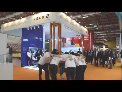 kaco new energy solarex istanbul 2017 fair video youtube. Black Bedroom Furniture Sets. Home Design Ideas