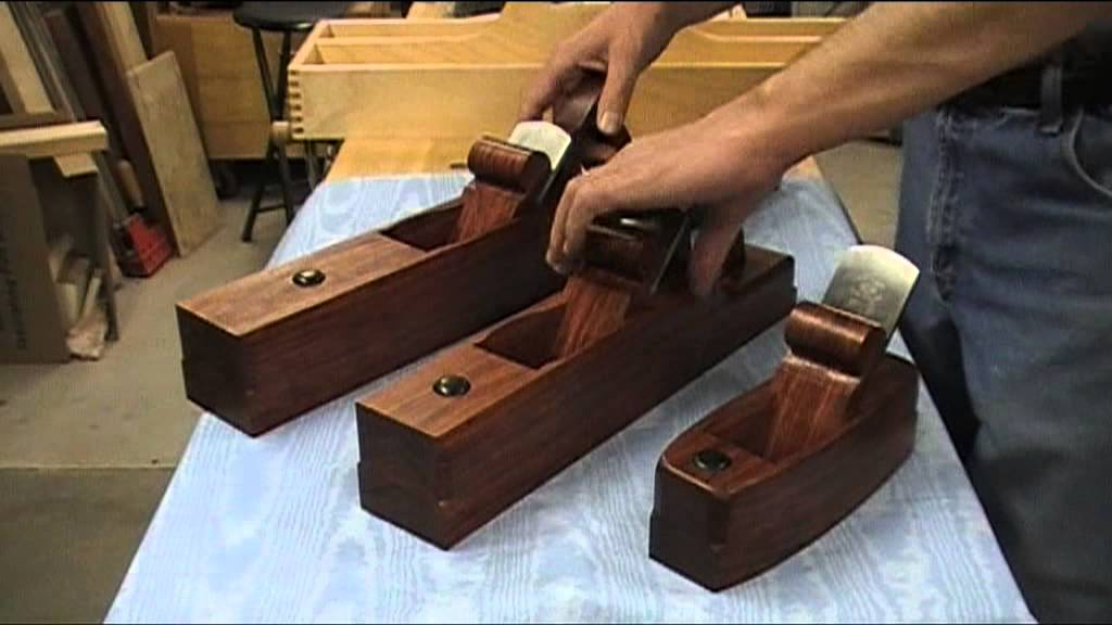 Wooden Bench Plane Set Youtube
