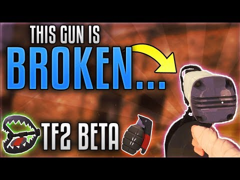 [TF2] I See Why This Was REMOVED From TF2... (TF2 Beta Gameplay)