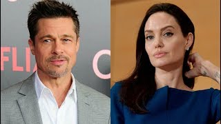 Анджелина Джоли и Брэд Питт встретились впервые за два года (Фото папарацци)