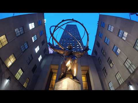 ⁴ᴷ How to walk from Rockefeller Center to Times Square via Underground Tunnels