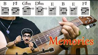 Chord Guitar Lagu Memories