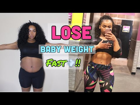 HOW TO LOSE WEIGHT AFTER HAVING A BABY + FAST & EASY