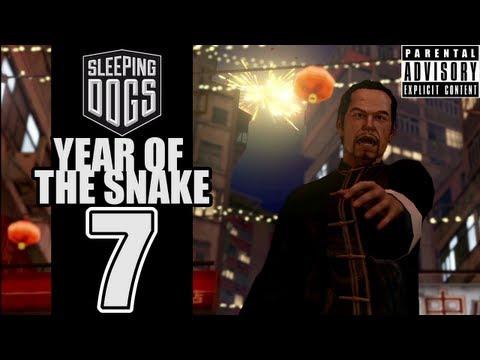 Beef Plays Sleeping Dogs - Year Of The Snake - EP07 - Bonus Face Bashing!
