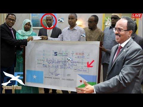 DEG DEG Dowlada an walalaha Nahay e Jabuuti o 1 Milyan dollar ugu deeqay Dadki wax u noqde Zoobe