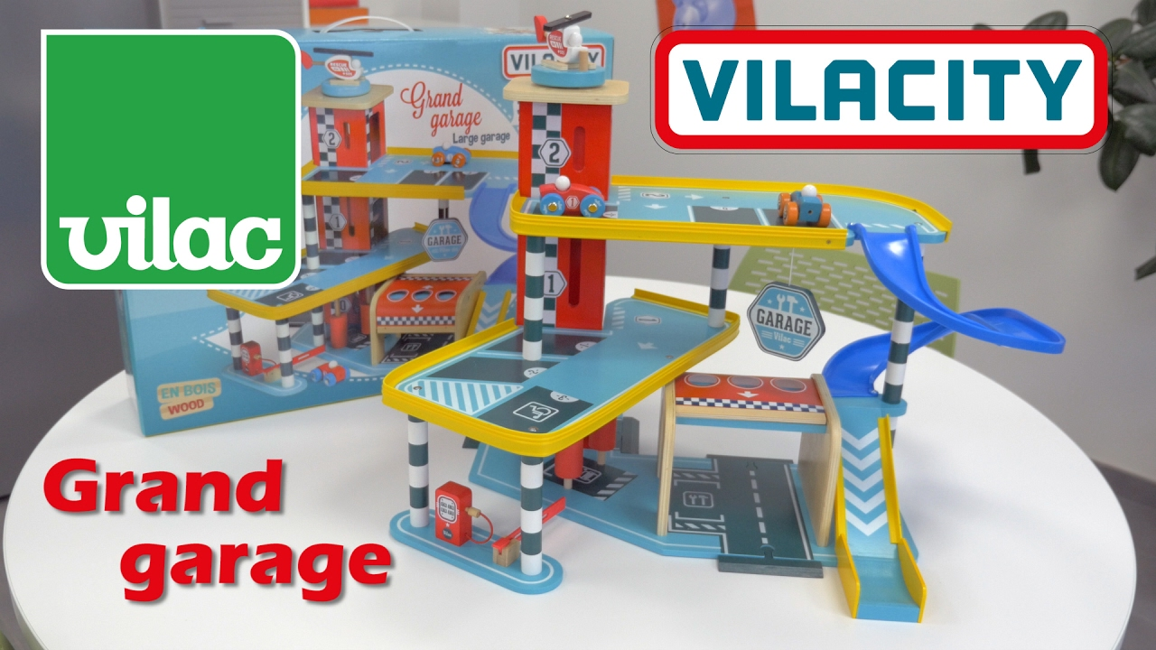 Vilacity grand garage d mo de la construction en bois for Garage total ozoir la ferriere