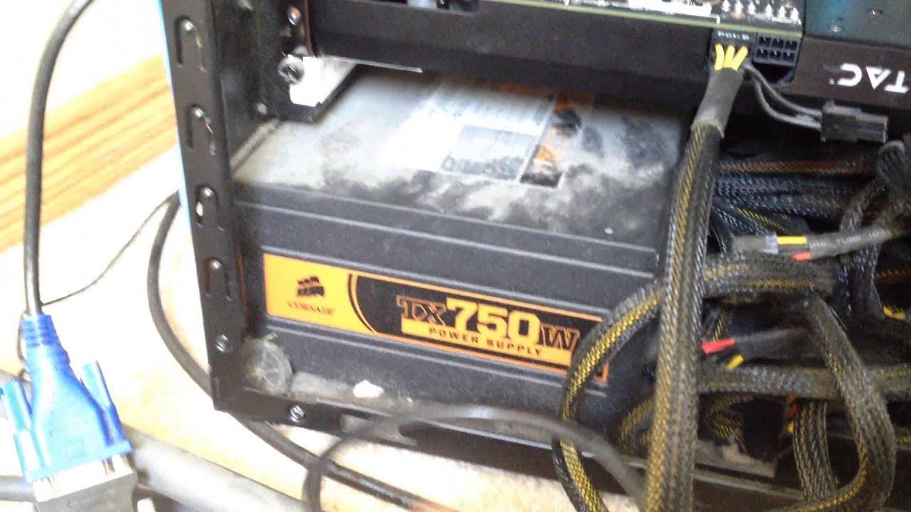 GTX 760 Power Hook up
