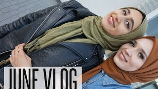 NABIILABEE JUNE VLOG | Hanging out with @karamaco